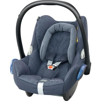 Pack poussette trio stella cabriofix compacte nomad blue Bebe confort