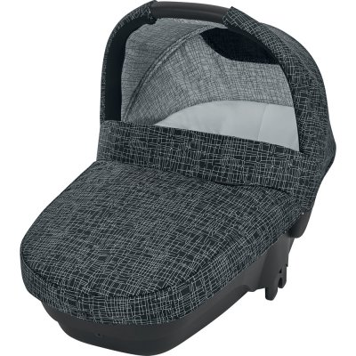 Pack poussette trio mya black grid Bebe confort