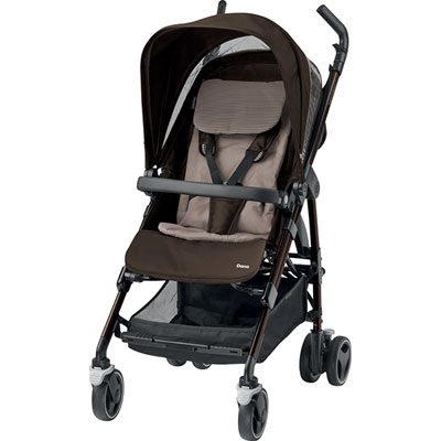 Poussette 4 roues dana earth brown Bebe confort