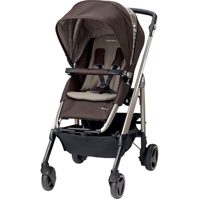 Pack poussette trio loola excel earth brown 2016 Bebe confort