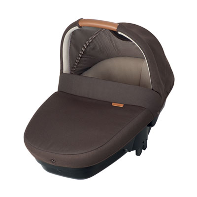 Pack poussette trio streety amber earth brown Bebe confort