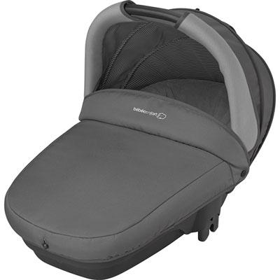 Pack poussette trio high trek pebble plus compacte concrete grey Bebe confort