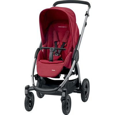 Pack poussette duo stella citi robin red Bebe confort