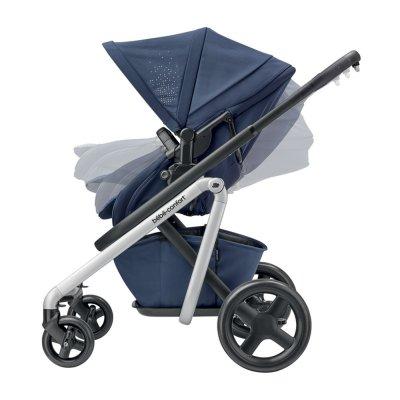 Poussette 4 roues lila nomad blue Bebe confort