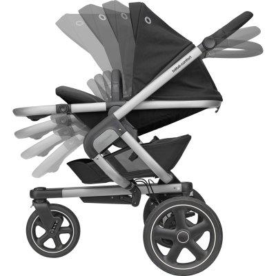 Poussette 3 roues nova essential black Bebe confort