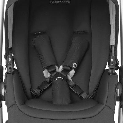 Poussette 4 roues mya essential black Bebe confort