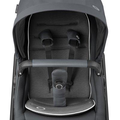 Poussette 4 roues lila cp essential graphite Bebe confort