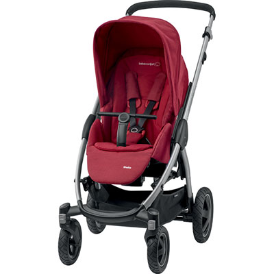 Poussette 4 roues stella robin red Bebe confort