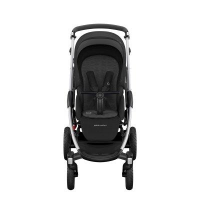 Poussette 4 roues stella essentiel black Bebe confort