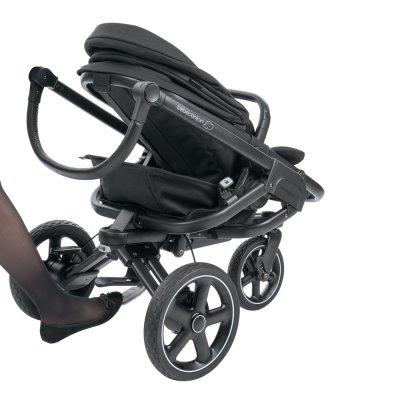 Poussette 3 roues nova triangle black Bebe confort