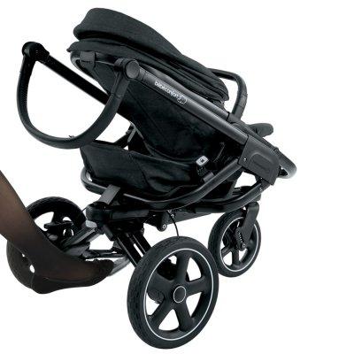 Poussette 3 roues nova nomad black Bebe confort