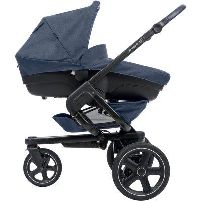 Pack poussette trio nova 3 roues pebble plus amber nomad blue Bebe confort
