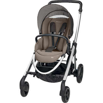 Poussette trio elea earth brown Bebe confort