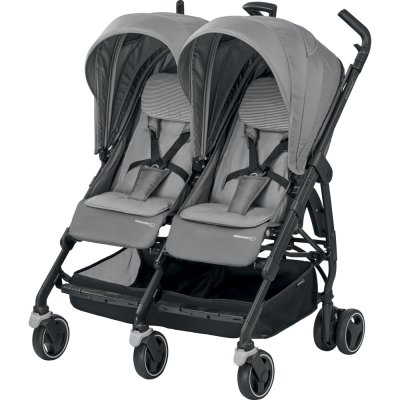 Poussette double dana for 2 concrete grey Bebe confort