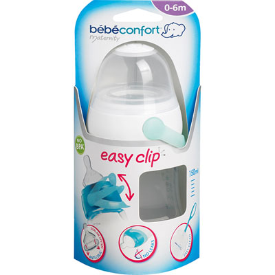 Bebe confort Biberon sans bpa maternity easy clip blanc 150ml 2
