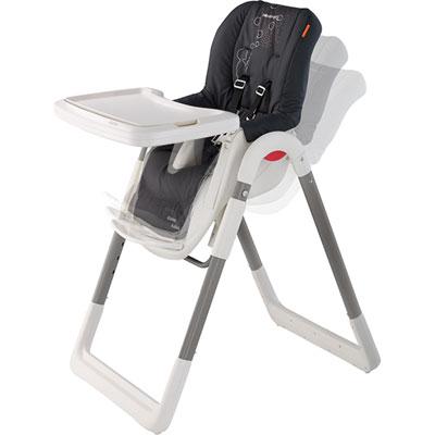 Chaise haute kaleo aristo black Bebe confort