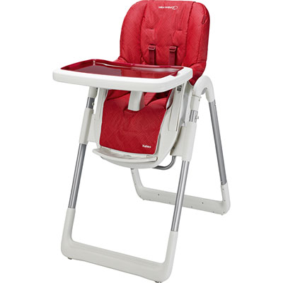 Chaise haute bébé kaleo animals red Bebe confort