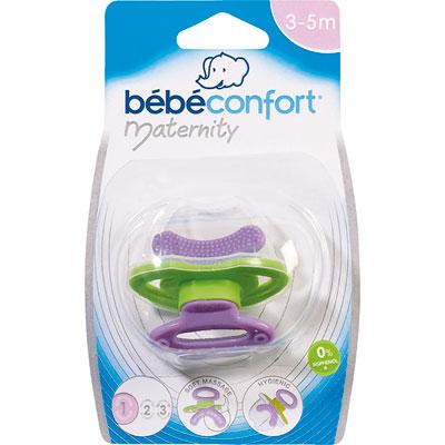 Sucette anneau de dentition maternity Bebe confort