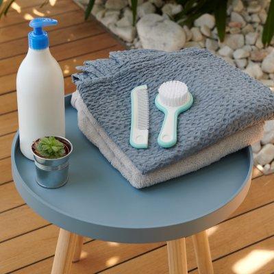 Brosse miroir et peigne water world bleu Bebe confort