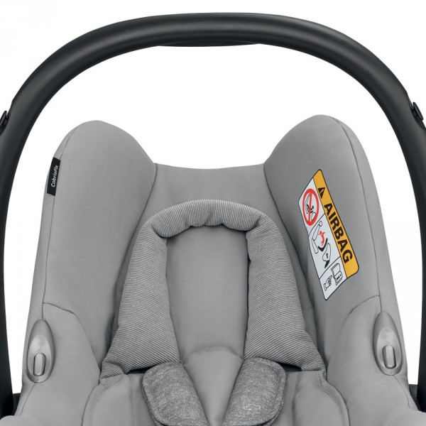 Siège auto coque cabriofix nomad grey - groupe 0+ Bebe confort