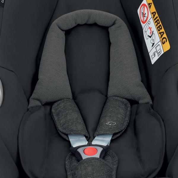 Siège auto coque cabriofix nomad black - groupe 0+ Bebe confort