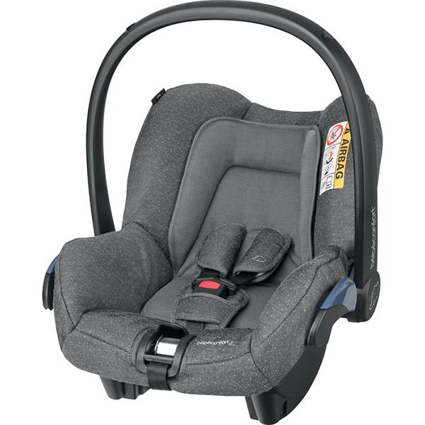 Siège auto coque citi sparkling grey - groupe 0+ Bebe confort