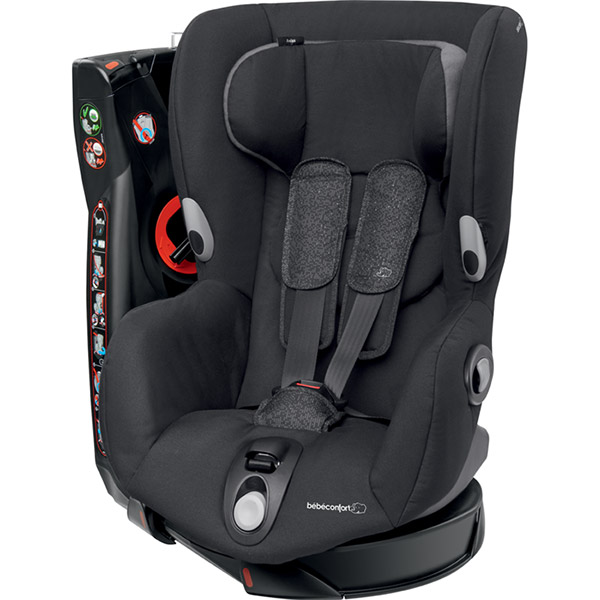Si ge auto axiss triangle black groupe 1 de bebe confort for Siege auto bebe 0 mois