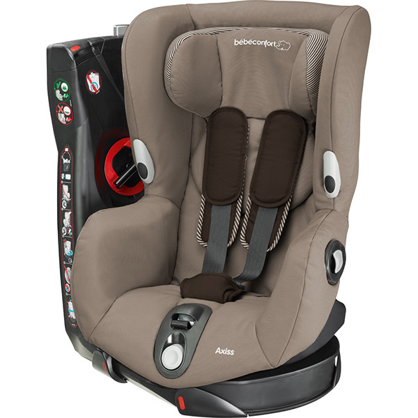 Siège auto axiss earth brown - groupe 1 Bebe confort