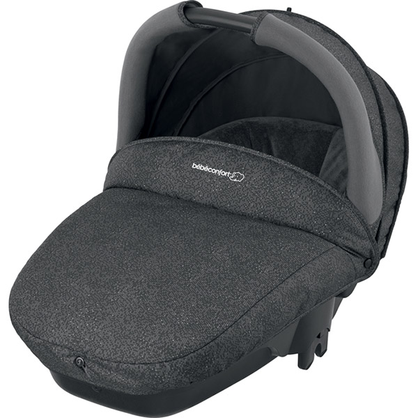 Pack poussette trio stella pebble plus compacte triangle black Bebe confort