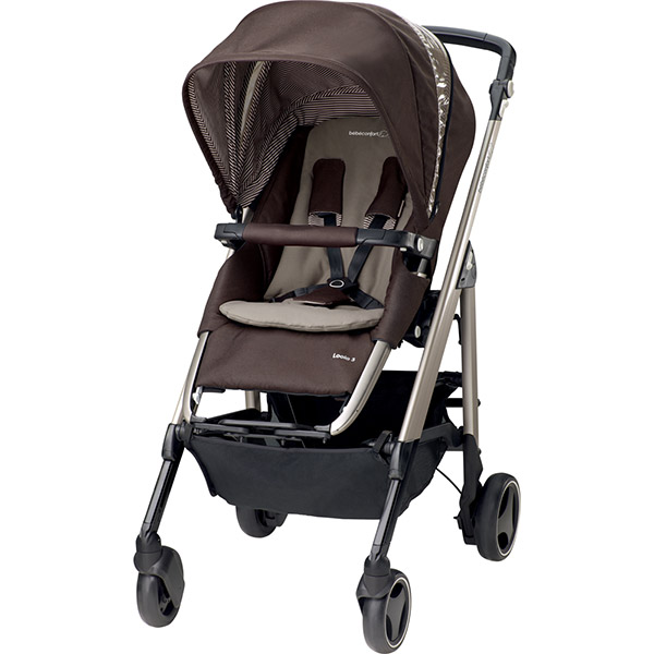 Poussette combiné trio loola excel earth brown 2016 Bebe confort