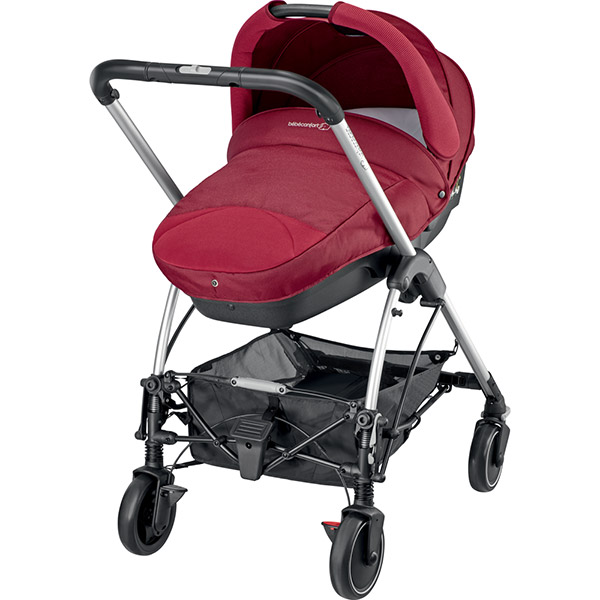 Poussette combiné trio streety next robin red 2016 Bebe confort