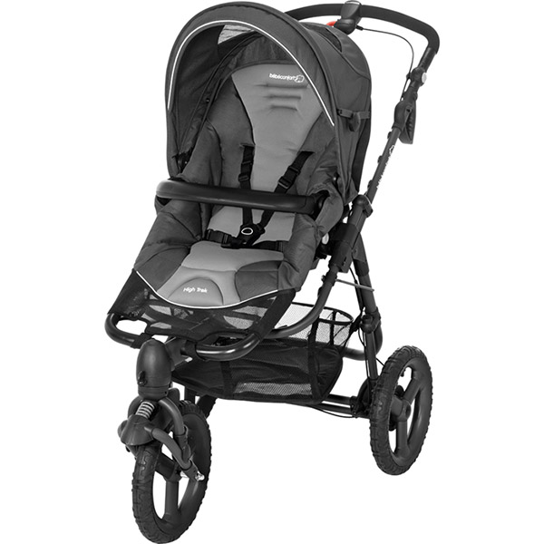 Poussette combiné duo high trek citi concrete grey Bebe confort