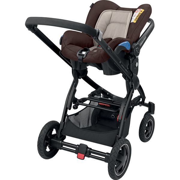 Poussette combiné duo stella citi earth brown Bebe confort