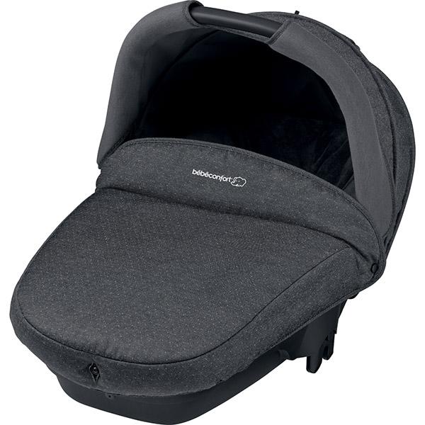 Nacelle bébé compacte sparkling grey - groupe 0 2016 Bebe confort