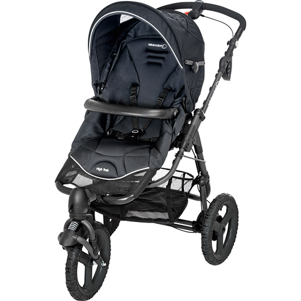 Poussette 3 roues high trek black raven 2015 Bebe confort