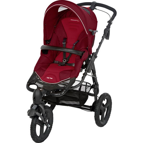 Poussette 3 roues high trek robin red 2016 Bebe confort
