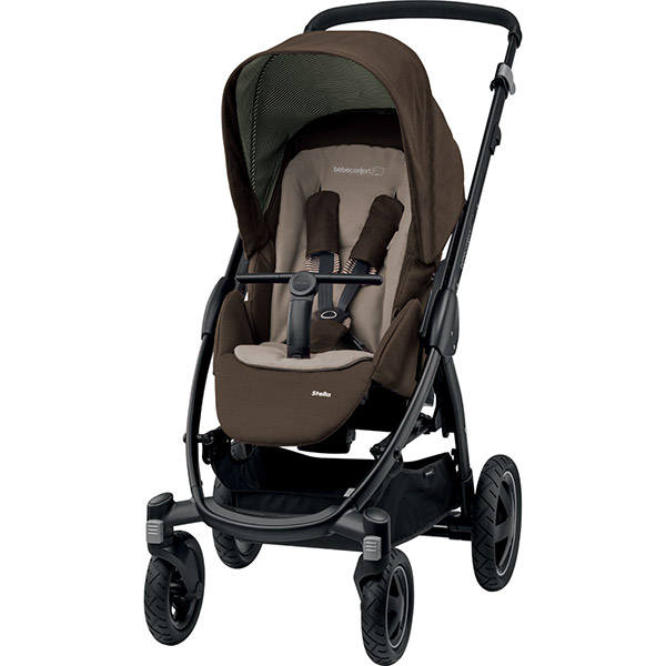 Poussette citadine stella earth brown Bebe confort