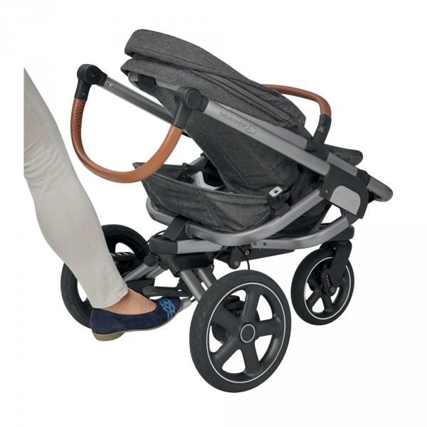 Poussette 3 roues nova sparkling grey Bebe confort