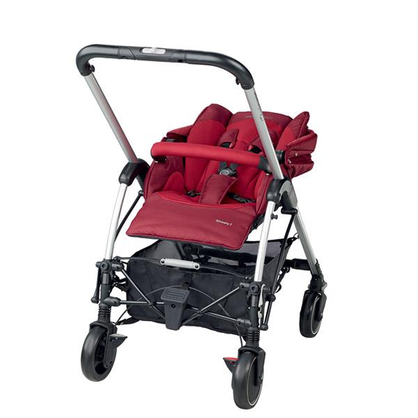 poussette 4 roues streety 3 robin red 2017 de bebe confort. Black Bedroom Furniture Sets. Home Design Ideas