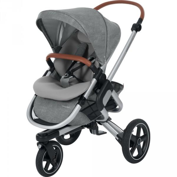 poussette 3 roues nova nomad grey de bebe confort. Black Bedroom Furniture Sets. Home Design Ideas