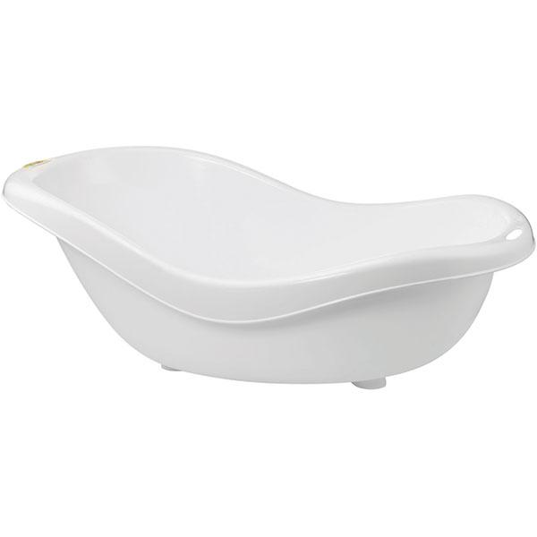 baignoire b b ergonomique avec vidange blanc 10 sur allob b. Black Bedroom Furniture Sets. Home Design Ideas