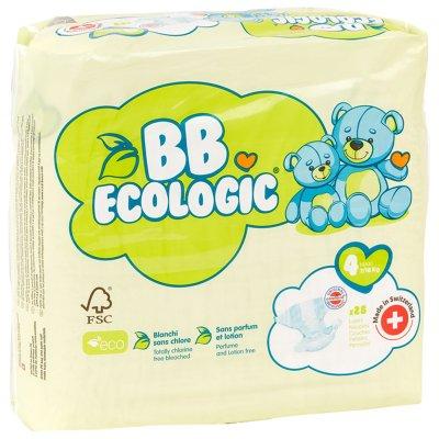 Couches bébé maxi taille 4, 7-18 kg (28 couches) Bb ecologic