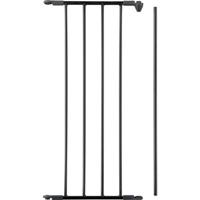 Extension barrière flex noire 33 cm