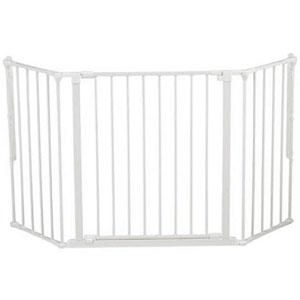 Barrière sécurité bébé pare-feu flex m blanc