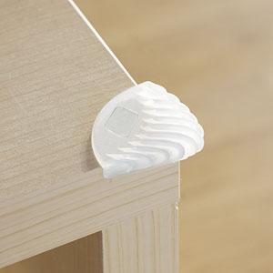 Protection de coin de meuble blanc