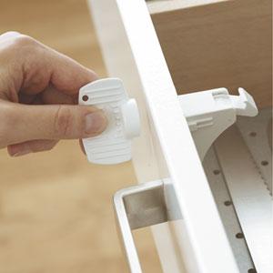 Bloque magnetique mag lock blanc