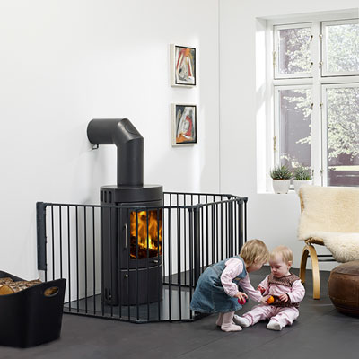 barri re de s curit pare feu flex xl noir au meilleur. Black Bedroom Furniture Sets. Home Design Ideas