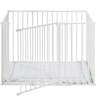 Parc rectangle flex blanc Baby dan