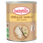 Bio céréale vanille 220 g dès 6 mois pas cher