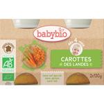 Bio carottes des landes 130 g dès 4 mois pas cher